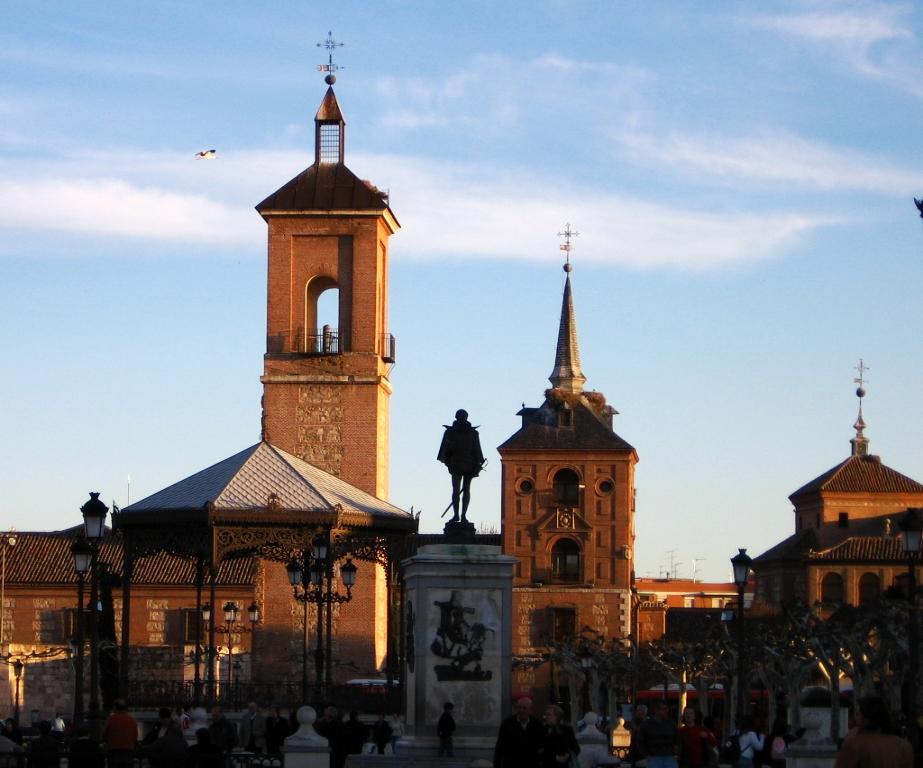 Alcala_de_henares_plaza_cervantes