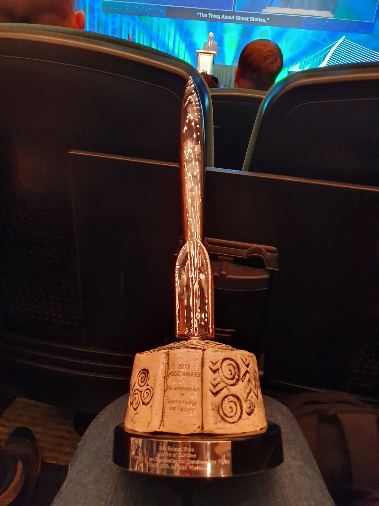 The Hugo Award won by Archive of Our Own.