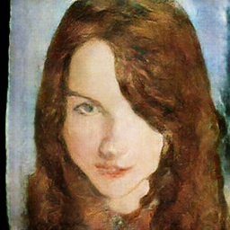 Portrait made by a Japanese AI.