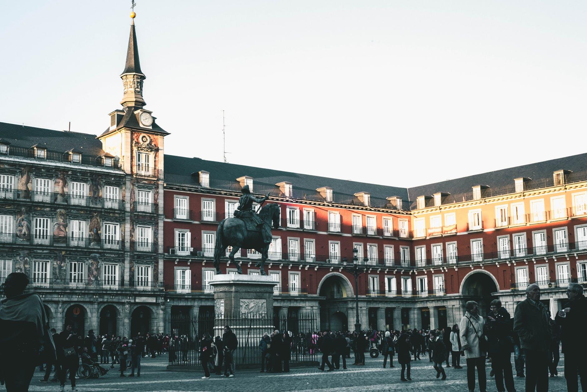 Madrid's Plaza Mayor.
