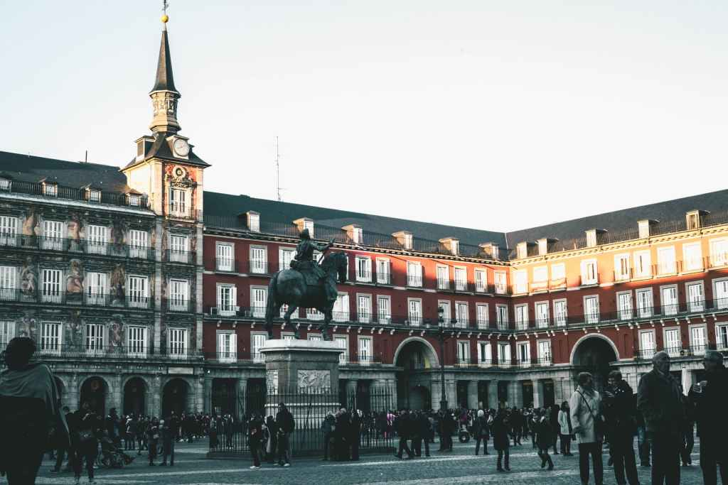 Madrid's Plaza Mayor.